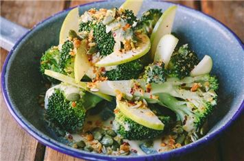Broccoli And Apple Salad From Freepoint Kitchen Cocktails