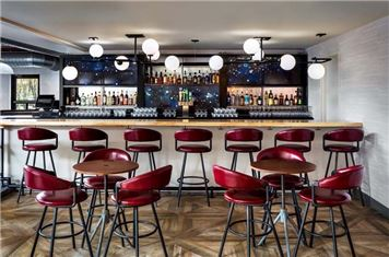 Stools At The Bar At Freepoint Kitchen Cocktails