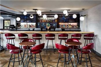 Stools At The Bar At Freepoint Kitchen & Cocktails