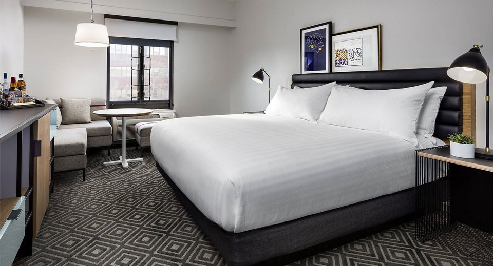 Eclectic, Sophisticated Boston Hotel Rooms with Local Art