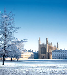 Winter in Cambridge