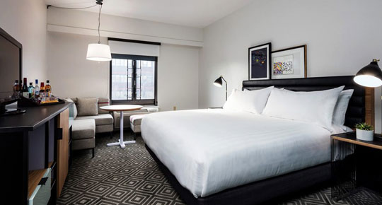 Guest Rooms at Freepoint Hotel Cambridge, Tapestry Collection, Cambridge